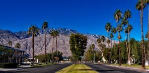 Palm Springs mit Obama